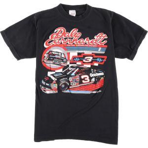 90年代 SPORTS IMAGE NASCAR ナスカー Dale Earnhardt デイルアーンハート プリントTシャツ USA製 メンズS ヴィンテージ 【中古】 【200309】 /eaa011701|jamtrading1