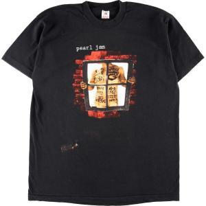 90年代 フルーツオブザルーム FRUIT OF THE LOOM PEARL JAM パールジャム window pain バンドTシャツ USA製 メンズXL 【中古】 【200308】 /eaa013068|jamtrading1
