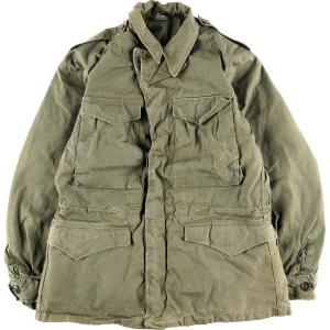 40年代 米軍実品 U.S.ARMY M-43 ミリタリー フィールドジャケット USA製 34R メンズM ヴィンテージ 【中古】 【200321】 /eaa014822|jamtrading1