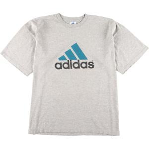 90年代 アディダス adidas ロゴTシャツ USA製 メンズXL ヴィンテージ 【中古】 【200405】 /eaa017569|jamtrading1