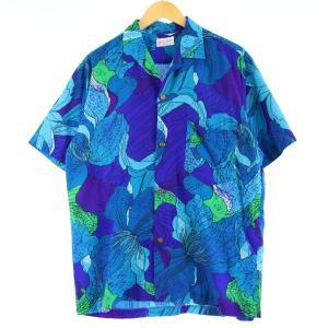 60〜70年代 Skirts 'n Blouses 総柄 オープンカラー ハワイアンアロハシャツ メンズM ヴィンテージ 【中古】 【200405】 /eaa017946|jamtrading1