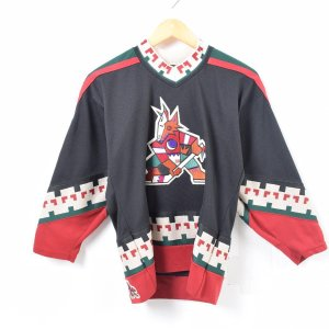 CCM NHL PHOENIX COYOTES フェニックスコヨーテズ ゲームシャツ レプリカユニフ...