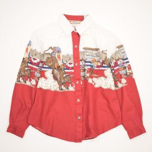 LOONEY TUNES ルーニーテューンズ 長袖 コットンシャツ USA製 ガール140~150c...
