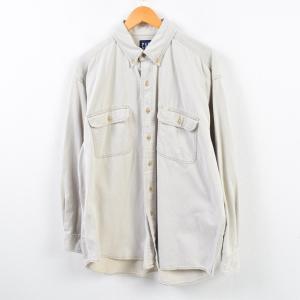 90年代 ギャップ GAP オールドギャップ 長袖 ボタンダウンシャツ メンズXL  ヴィンテージ ...