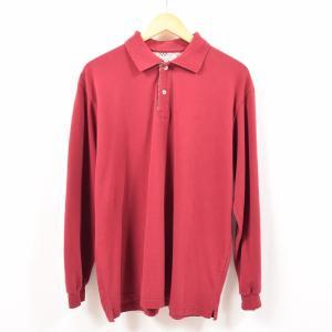 バーバリー Burberry's LONDON 長袖 ポロシャツ 英国製 メンズL 【中古】 【19...