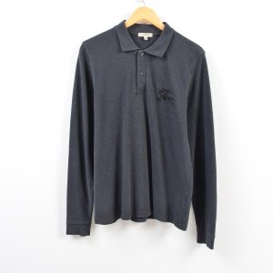 バーバリー Burberry's LONDON 長袖 ポロシャツ メンズM 【中古】 【190714...