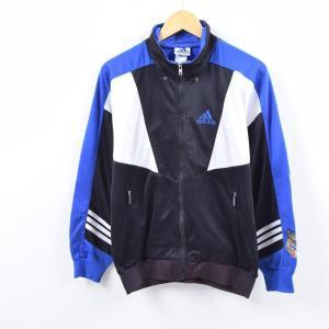 90年代 アディダス adidas バックロゴ ジャージ トラックジャケット メンズM 【中古】 【...
