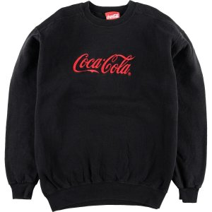 90年代 コカコーラ COCA-COLA ロゴスウェット トレーナー USA製 メンズL ヴィンテージ 【中古】 【200315】 /wbi7566|jamtrading1