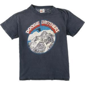 80年代 ヘインズ Hanes DOOBIE BROTHERS ドゥービーブラザーズ USA TOUR 81 バンドTシャツ USA製 メンズM ヴィンテージ 【中古】 【200329】 /wbi7936|jamtrading1