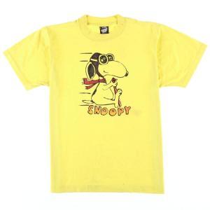 90年代 SCREEN STARS BEST SNOOPY スヌーピー キャラクタープリントTシャツ USA製 レディースL ヴィンテージ 【中古】 【200327】 /wbi7961|jamtrading1