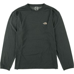 90年代 ザノースフェイス THE NORTH FACE ワンポイント ロングTシャツ ロンT USA製 メンズM ヴィンテージ 【中古】 【200328】 /wbi8005|jamtrading1