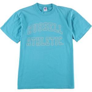 90年代 ラッセル Russell ロゴTシャツ USA製 メンズL ヴィンテージ 【中古】 【200327】 /wbi8018|jamtrading1