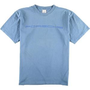90年代 ALORE PORSCHE ポルシェ アドバタイジングTシャツ USA製 メンズXL ヴィンテージ 【中古】 【200327】 /wbi8055|jamtrading1