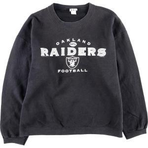 90年代 リー Lee NFL OAKLAND RAIDERS オークランドレイダーズ ロゴスウェット トレーナー メンズXXL  ヴィンテージ 【中古】 【200308】 /wbj0302|jamtrading1