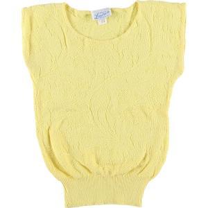 80年代〜 Lauren knitwear corp. ノースリーブニットセーター USA製 レディースS ヴィンテージ 【中古】 【200306】 /wbj0715|jamtrading1