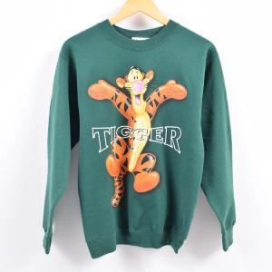 Disneyland TIGGER ティガー キャラクタースウェットシャツ トレーナー レディースS...