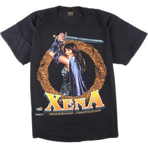 90年代 Changes XENA WARRIOR PRINCESS ジーナ プリントTシャツ USA製 メンズXL ヴィンテージ 【中古】 【200312】 /wbj4382|jamtrading1