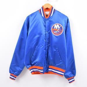 90年代 スターター Starter NHL NEW YORK ISLANDERS ニューヨークアイ...