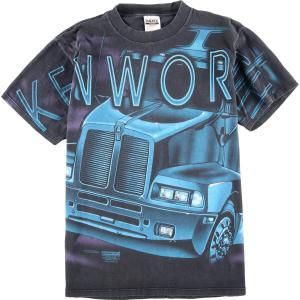 90年代 タルテックス TULTEX KENWORTH ケンワースW900 プリントTシャツ メンズL ヴィンテージ 【中古】 【200328】 /wbk9112|jamtrading1