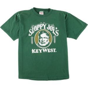 90年代 ONEITA SLOPPY JOE'S KEYWEST アドバタイジングTシャツ USA製 メンズL ヴィンテージ 【中古】 【200328】 /wbl0554|jamtrading1