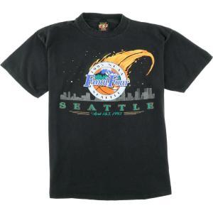90年代 TSI FINAL FOUR ファイナル フォー 1995 NCAA SEATTLE スポーツプリントTシャツ メンズXL ヴィンテージ 【中古】 【200328】 /wbl0563|jamtrading1
