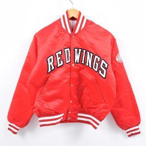 90年代 スターター Starter NHL DETROIT RED WINGS デトロイトレッドウ...