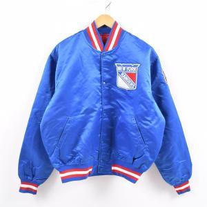 90年代 スターター Starter NHL NEW YORK RANGERS ニューヨークレンジャ...