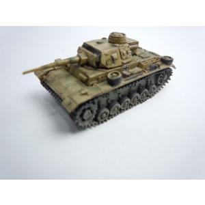 【開封済み】ワールドタンクミュージアム Series7 ドイツ軍 III号戦車 中戦車 J型 後期型 二色迷彩(イエローベース) janboo 03