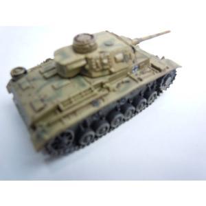 【開封済み】ワールドタンクミュージアム Series7 ドイツ軍 III号戦車 中戦車 J型 後期型 二色迷彩(イエローベース) janboo 04