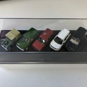 LANDROVER70thアニバーサリーミニカー5台SET1/76スケール jandl-automotive