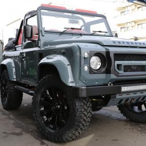 ディフェンダー90カブリオレキット-Black|jandl-automotive