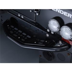ディフェンダーBowlerリアステップバンパーブラックペア|jandl-automotive