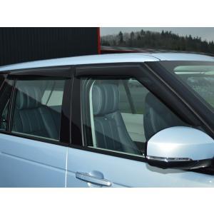 レンジローバー4L405(2012〜)用フロント&リアドアバイザー|jandl-automotive