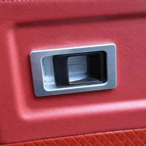 ディフェンダー用アルミビレットドアレバーバックプレート1ペア jandl-automotive