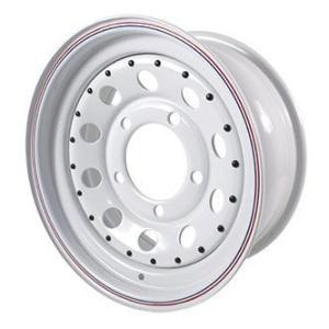 Terrafirmaモジュラーホワイトスチールホイール4本(5本)セット/ディフェンダー・ディスコ1・クラシックレンジ|jandl-automotive