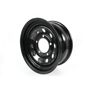 Terrafirmaモジュラーブラックスチールホイール4本(5本)セット/ディフェンダー・ディスコ1・クラシックレンジ|jandl-automotive