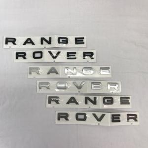 RANGEROVERデカール前後共通ブラック/シルバー/アンスラサイト jandl-automotive