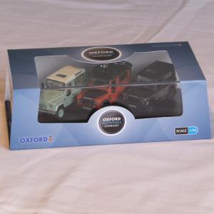 LANDROVERミニカー1/76ランドローバーDiecastディフェンダー90セレブレーションセット|jandl-automotive