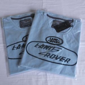 ランドローバーメンズグラフィックTシャツライトブルーサイズM/LANDROVER men's T-shirt|jandl-automotive