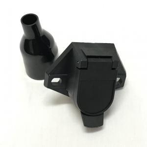 J&L電源コネクター7極(車側ソケット)/プラスチックブラック製|jandl-automotive