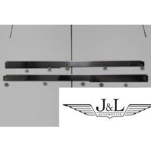 ディフェンダー用ステンレススカッフプレートフロントドア左右セット jandl-automotive
