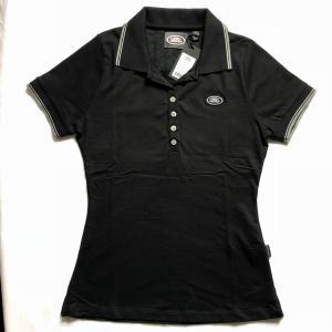 LANDROVERレディースポロシャツSサイズBLACK|jandl-automotive