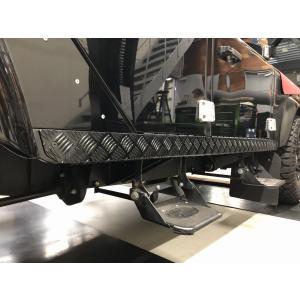 ディフェンダー110ステーションワゴン用チェッカープレートセット|jandl-automotive