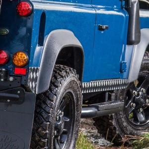 ディフェンダー90用チェッカープレートセット|jandl-automotive