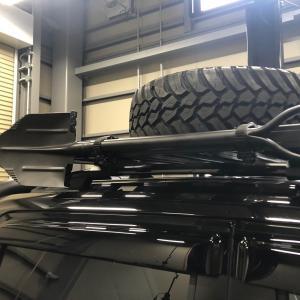 FRONTRUNNERルーフラック用スコップホルダー|jandl-automotive