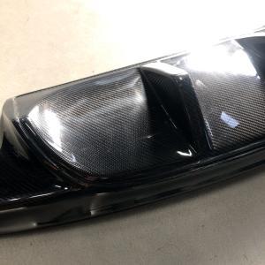 ジャガーXFカーボンリアアンダースポイラー/リアディフューザー|jandl-automotive|02