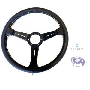 NARDIナルディクラシックレザーブラックスポーク360mm|jandl-automotive|10