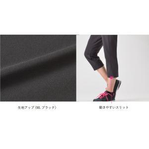 クロスカプリパンツ レディース S M L O XO LL 3L 4L 5L フィットネス ウォーキング カジュアルパンツ 大きいサイズ 日本製 |janestyle-jp|04