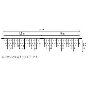 MKイルミネーション/【アイスライトフラッシュ ICE LITE 114 Flashing】/グラフィックスアダプターケーブル付/【送料無料】|janet