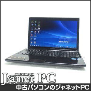 中古ノートパソコン Windows7 15.6型ワイド液晶 Core i5-3210M 2.50GHz RAM4GB HDD500GB DVDマルチ 無線LAN Office付属 lenovo G580(2689D4J)【1044】|janetpc